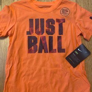 "Nike Boy's ""Just Ball"" t-shirt"